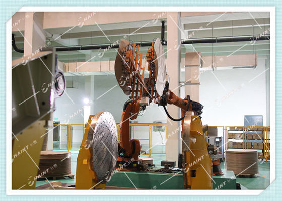 Automation Solutions Factory Robot Arm , Industrial Robot Manipulator In Paper Mill